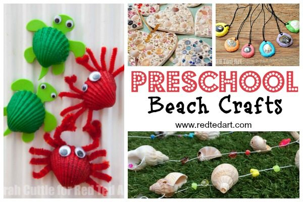 Summer crafts for toddlers and preschoolers. Great Summer crafts for Kindergarten to do with little ones. Over 47 Summer Activities to choose from and make this summer. Gets hands on #preschool #summer #crafts #activities #kindergarten