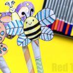 Summer Straw Shooter Craft