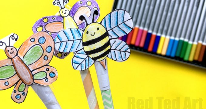 Summer Straw Shooter Craft