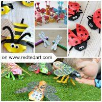 Bug TP Roll Crafts for Kids