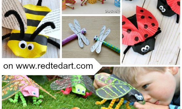 Bug Toilet Paper Roll Crafts for Kids