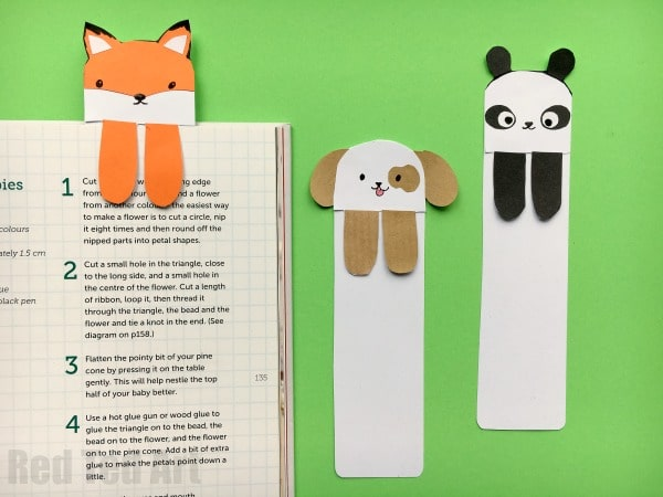 Cute Dog Bookmark Ideas