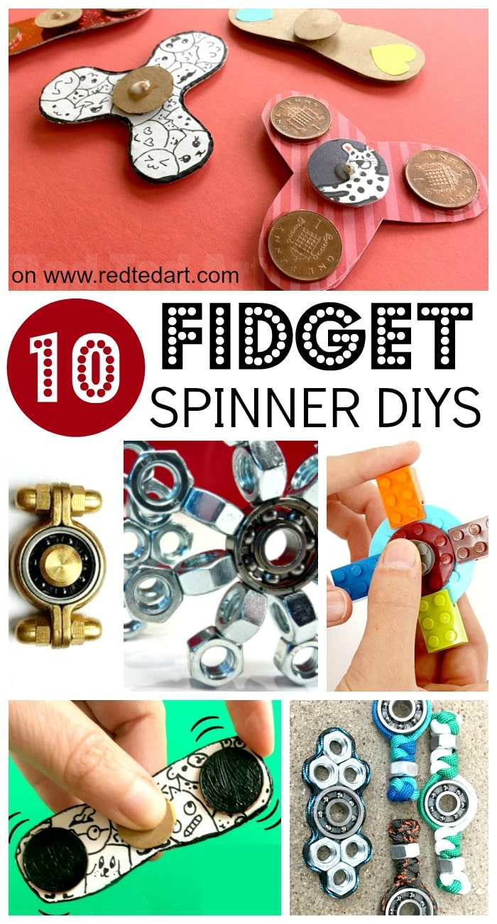 Fidget Spinner DIY Ideas - are you looking for easy Fidget Spinners DIYs? Here are a great set of DIYs that show you how to make Fidget Spinners. There are a variety. Fidget Spinners without bearings, as well as cool bearing Fidget Spinner diys. So fun! These also make great Science Fair investigations. Read on for more information. Have fun with your DIY Fidget spinner!!!