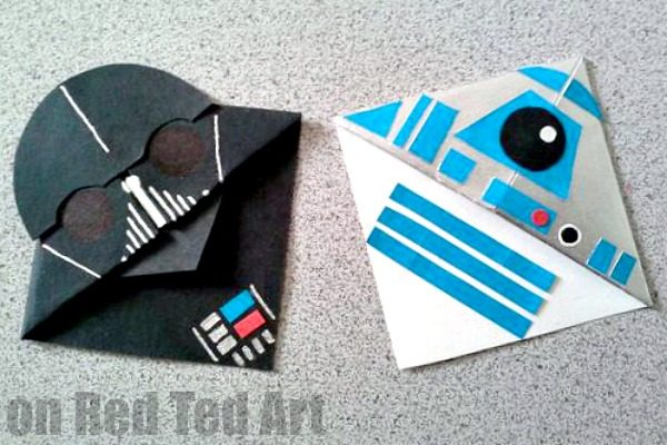 Darth Vader Bookmark Great For Fathers Day Red Ted Arts Blog
