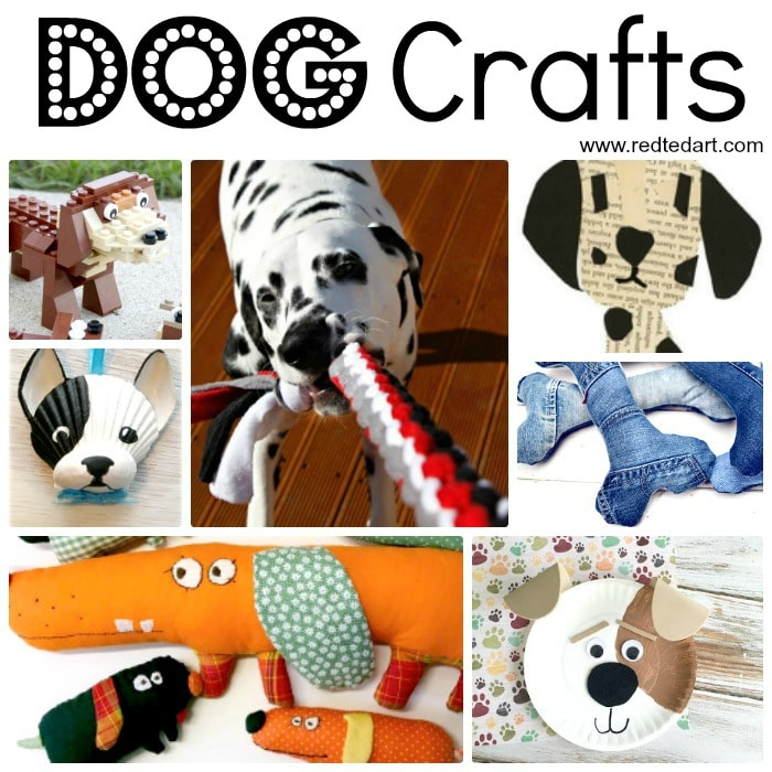 Easy Dog DIY Ideas - Red Ted Art\'s Blog