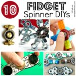 Fidget Spinners DIY – 10 Designs
