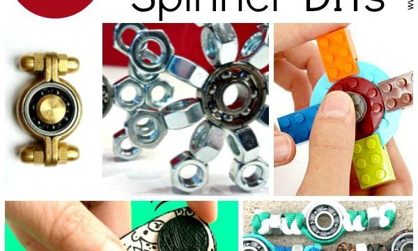 Fidget Spinners DIY – 10 Designs