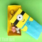Minion Paper Box Craft