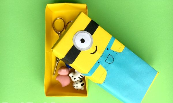 Minion Paper Box Craft