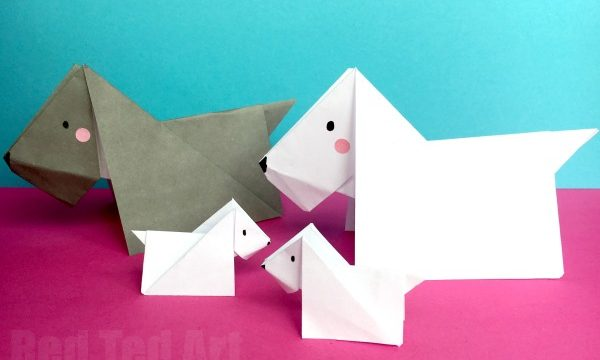 Scottie Dog Origami