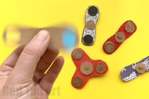 How to make a Fidget Spinner DIY - are you looking for easy Fidget Spinners DIYs? Here are a great set of DIYs that show you how to make Fidget Spinners. There are a variety. Fidget Spinners without bearings, as well as cool bearing Fidget Spinner diys. So fun! These also make great Science Fair investigations. Read on for more information. Have fun with your DIY Fidget spinner!!!