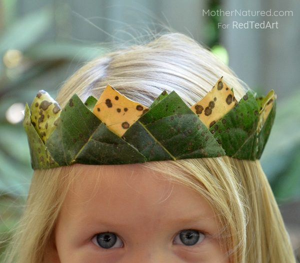 5 Nature Art Ideas For Kids Red Ted Art