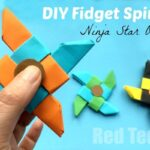 Ninja Fidget Spinner DIY – Paper Only, NO TEMPLATE Needed