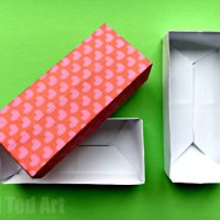 Easy Rectangular Origami Box