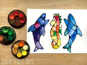 Shark Craft Ideas For Preschool Red Ted Art