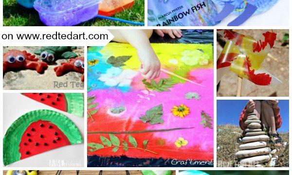 Summer preschool crafts