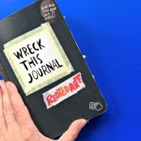 Simple Wreck this Journal Ideas for Kids