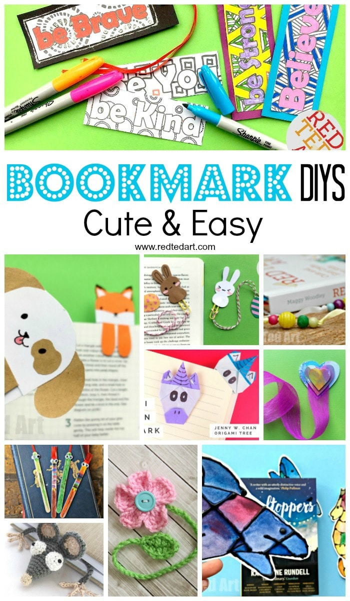 Creative DIY Bookmark Ideas. By Now You MUST Know How Much We Love Love Love