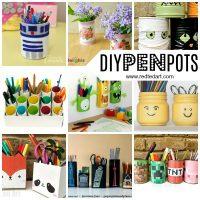 Pencil Holder DIY Ideas
