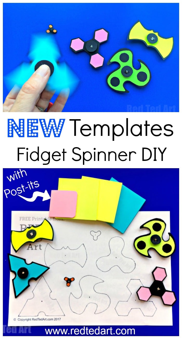 photograph relating to Fidget Spinner Template Printable referred to as Do it yourself Printable Fidget Spinner Template (without having bearings