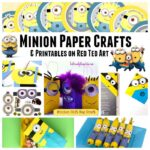 37+ Minion Paper Crafts & Despicable Me Printables