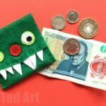 Easy Kids Monster Purse DIY