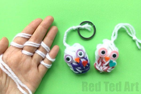 Yarn Owl Craft