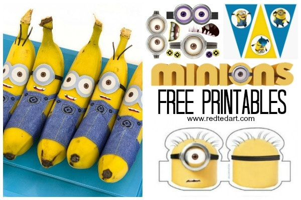 picture relating to Minions Eyes Printable named 37+ Minion Paper Crafts Despicable Me Printables - Crimson Ted Artwork