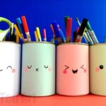 Kawaii Pencil Holder DIY Idea