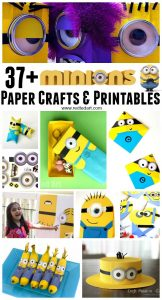 Minion Paper Crafts