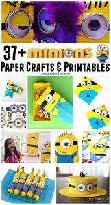 Minion Paper Crafts