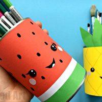 Summer Pencil Holders