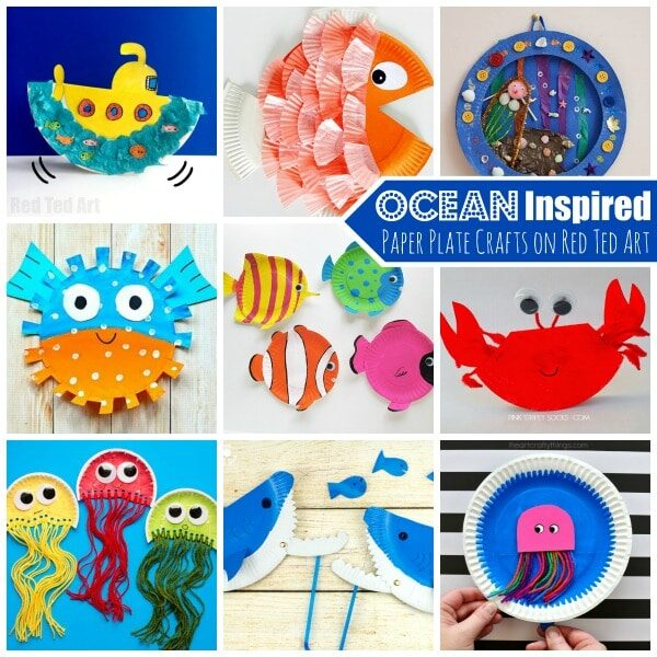 And more Under the Sea Crafts  sc 1 st  Red Ted Art & Shark Craft Ideas for Preschool - Red Ted Artu0027s Blog