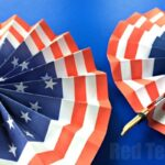 4th of July DIY Paper Fans Template – Memorial Day Activities