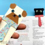Hug a Book Pug Bookmark DIY