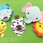 Safari Animal Bookmarks