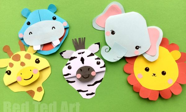 Safari Animal Bookmarks