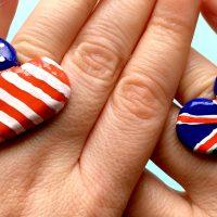 American Flag Ring DIY