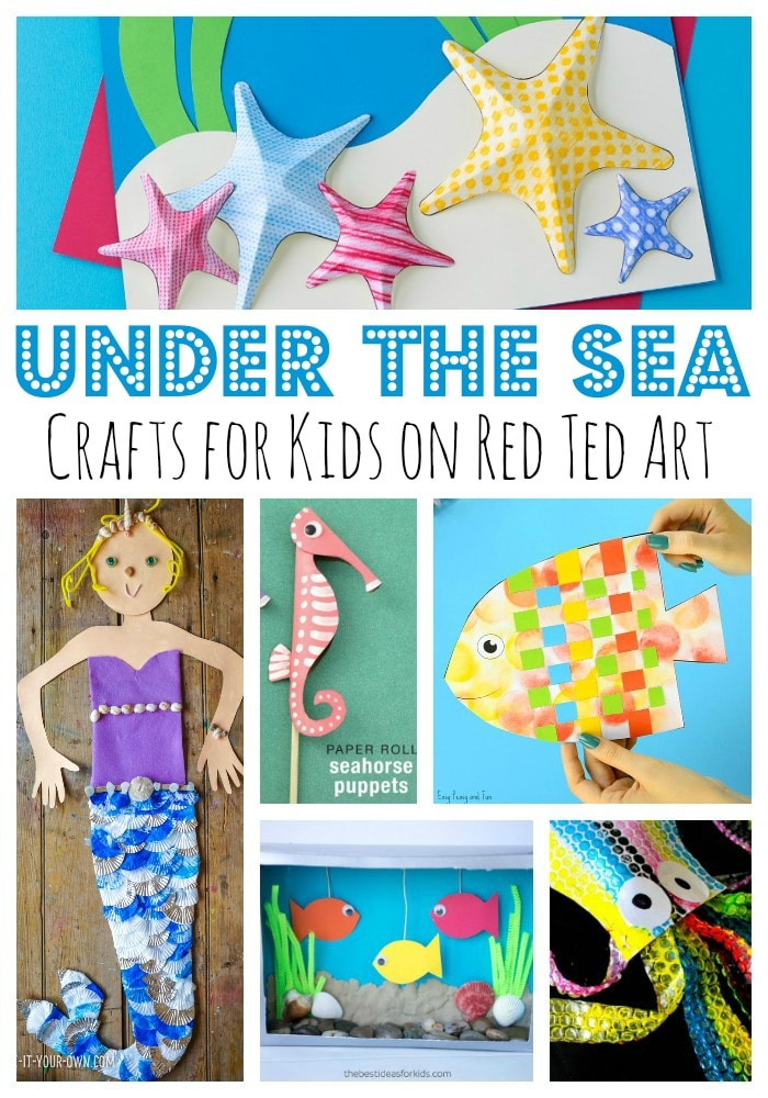 under the sea paper plate crafts for kids