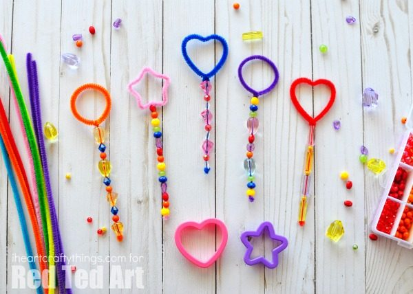 DIY Shape Bubble Wands with Cookie Cutters - we adore bubbles in the Summer. Make these wonderful Shape Bubble Wands - so quick and easy and have lots of Bubble Play. We also have a great DIY Bubble Recipe for you - mix up a big batch for the whole of summer!!