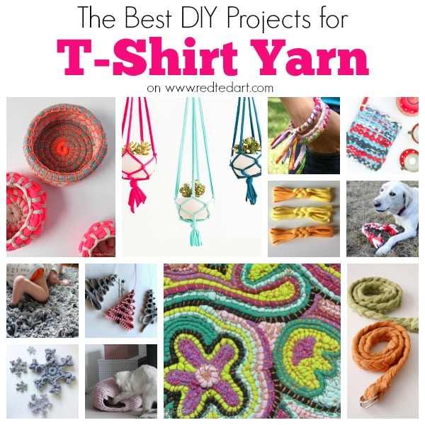 T Shirt Yarn Ideas Red Ted Arts Blog