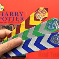 Easy Harry Potter Bookmarks