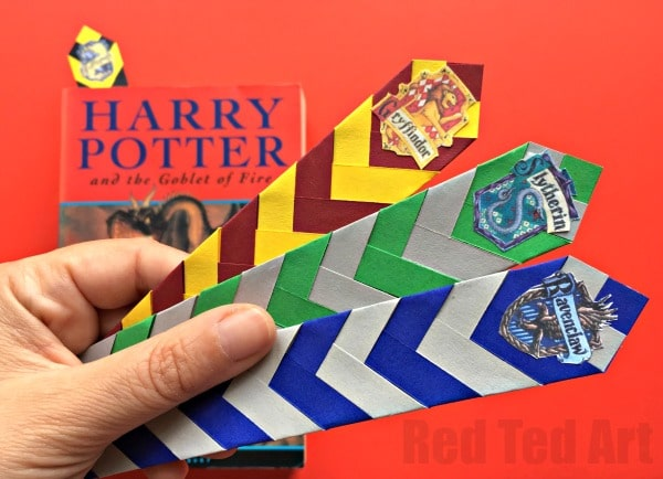 picture relating to Printable Harry Potter Bookmarks named Straightforward Harry Potter Bookmarks - Pink Ted Artwork