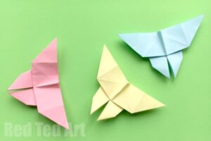 Fun paper butterfly craft for kids
