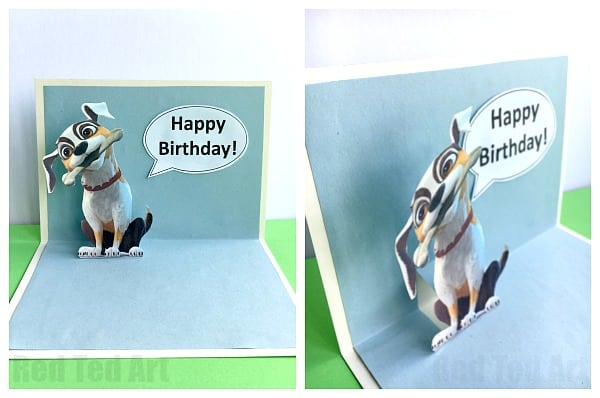 Cute 3D Birthday Card