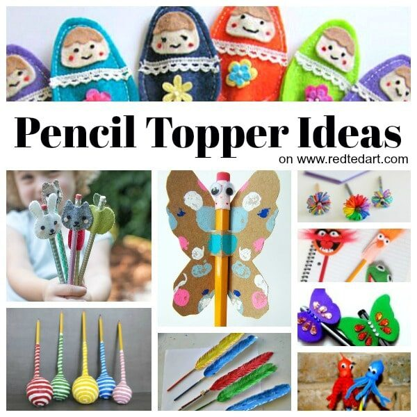 Pencil Topper Ideas