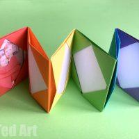 Mini Origami Photo Album – Accordion Photo Book