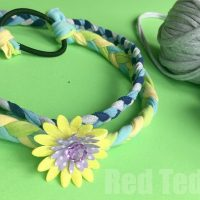 Easy T-shirt Yarn Hairbands