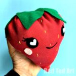 How to Sew a Strawberry Plushie
