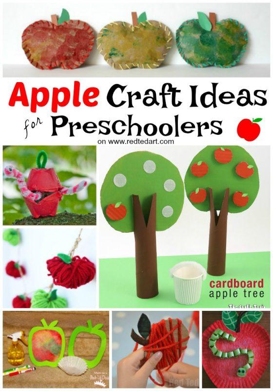 Preschool Crafts Red Ted Art